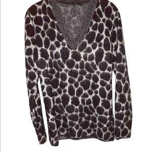 New Gucci Mohair Sweater Medium Grey